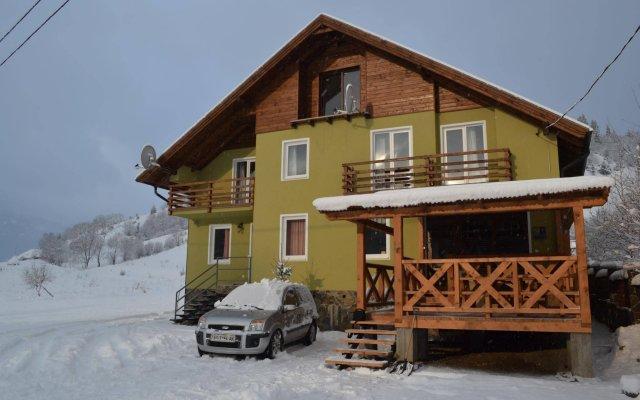 Гостиница Вилла Речка вид на фасад