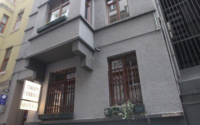 Taksim Terrace Hotel Стамбул вид на фасад