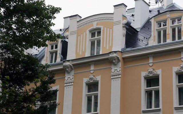 Ferdinandhof Apart-Hotel Карловы Вары вид на фасад