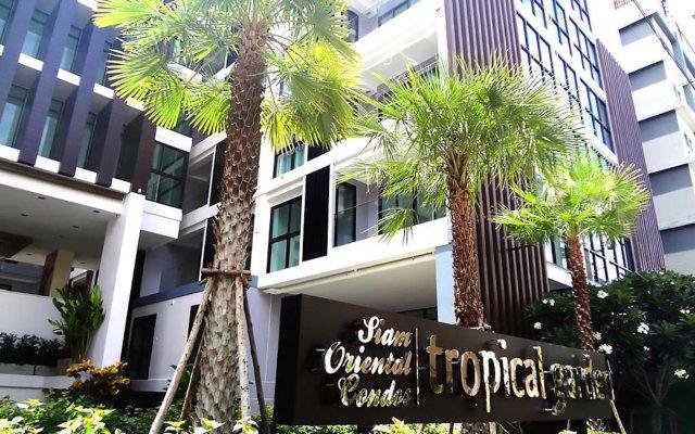 Отель Tropical Garden Pratumnak Паттайя вид на фасад