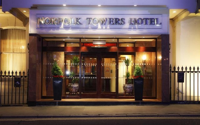 Norfolk Towers Paddington Hotel вид на фасад