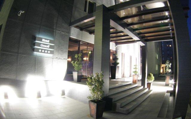 Гостиница Genoff вид на фасад