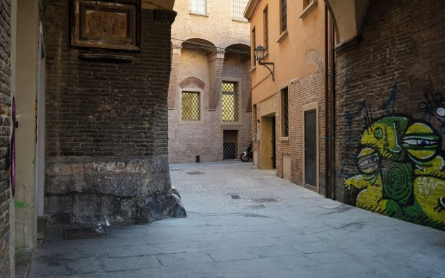Отель Lo Scrigno di Vicolo Mandria Италия, Болонья - отзывы, цены и фото номеров - забронировать отель Lo Scrigno di Vicolo Mandria онлайн вид на фасад