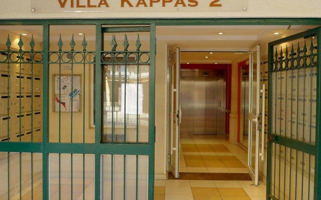 Отель Villa Kappas Ницца вид на фасад