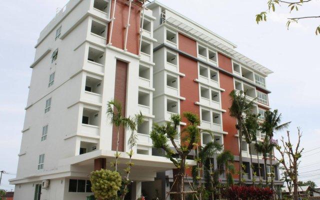 Santiphap Hotel & Villa вид на фасад