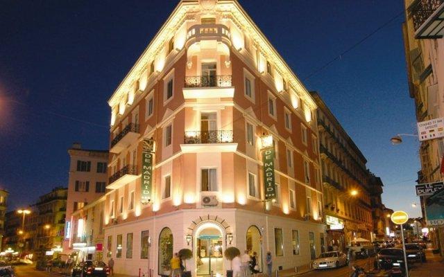 Отель Best Western Hotel de Madrid Nice Франция, Ницца - отзывы, цены и фото номеров - забронировать отель Best Western Hotel de Madrid Nice онлайн вид на фасад