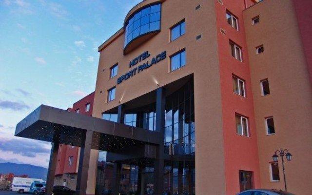 Отель Sport Palace Болгария, Сливен - отзывы, цены и фото номеров - забронировать отель Sport Palace онлайн вид на фасад