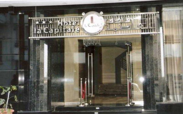 Отель La Capitale Марокко, Рабат - отзывы, цены и фото номеров - забронировать отель La Capitale онлайн вид на фасад