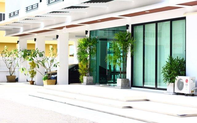 Отель P.K. Residence Таиланд, Пхукет - отзывы, цены и фото номеров - забронировать отель P.K. Residence онлайн вид на фасад
