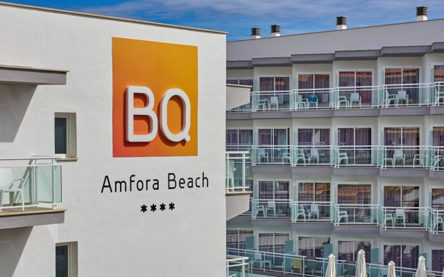 BQ Amfora Beach Adults Only Hotel вид на фасад