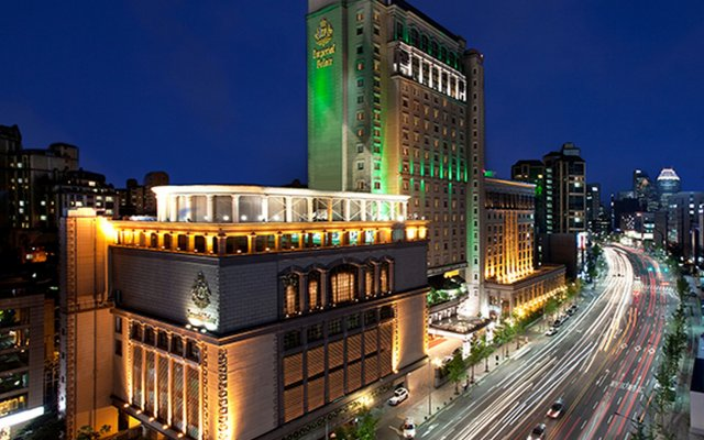 Отель Imperial Palace Seoul Сеул вид на фасад