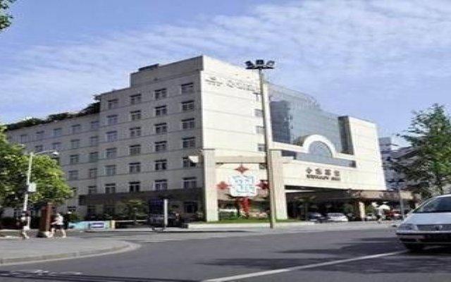 Отель Sunjoy Inn вид на фасад