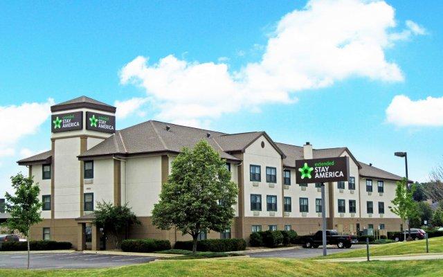 Отель Extended Stay America - Columbus - Easton США, Колумбус - отзывы, цены и фото номеров - забронировать отель Extended Stay America - Columbus - Easton онлайн вид на фасад