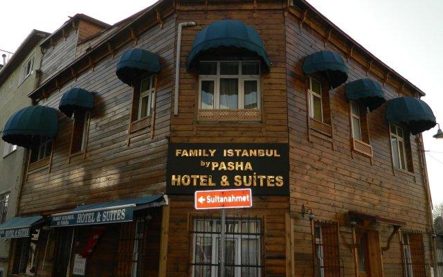 Отель Family Istanbul Стамбул вид на фасад