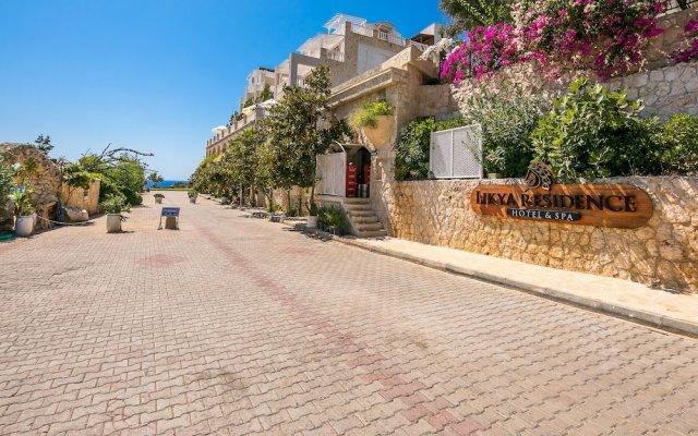 Likya Residence Hotel & Spa Boutique Class Турция, Калкан - отзывы, цены и фото номеров - забронировать отель Likya Residence Hotel & Spa Boutique Class онлайн вид на фасад