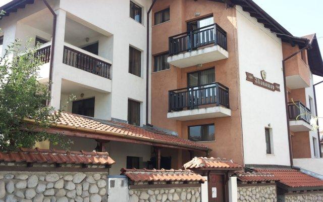 Отель Ikonomov Spa вид на фасад