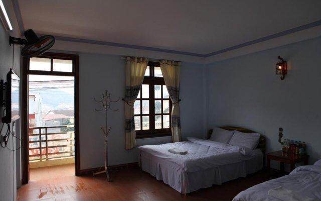 Huy Hoang Hostel Шапа комната для гостей