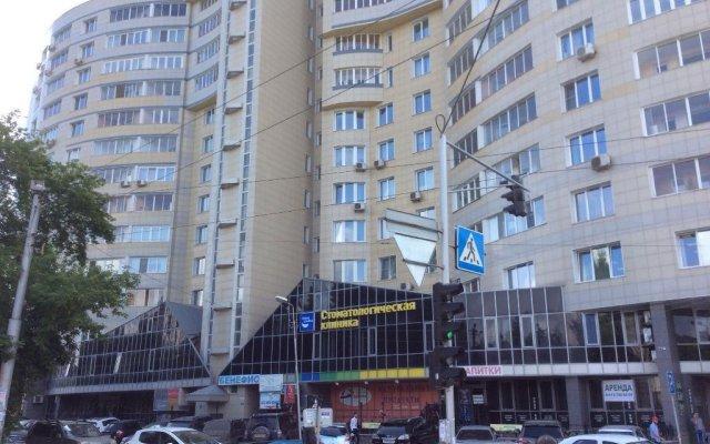 Парк Хостел Новосибирск вид на фасад