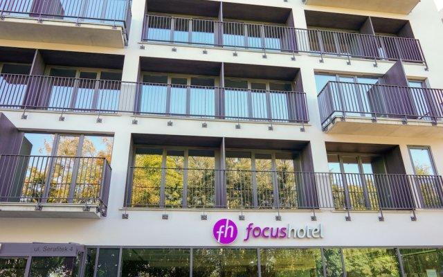 Отель Focus Poznan Польша, Познань - 1 отзыв об отеле, цены и фото номеров - забронировать отель Focus Poznan онлайн вид на фасад