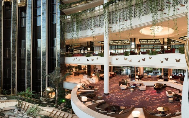 Rixos Downtown Antalya Турция, Анталья - 7 отзывов об отеле, цены и фото номеров - забронировать отель Rixos Downtown Antalya онлайн вид на фасад