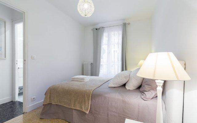 Отель Appartement moderne - Vieux Nice комната для гостей