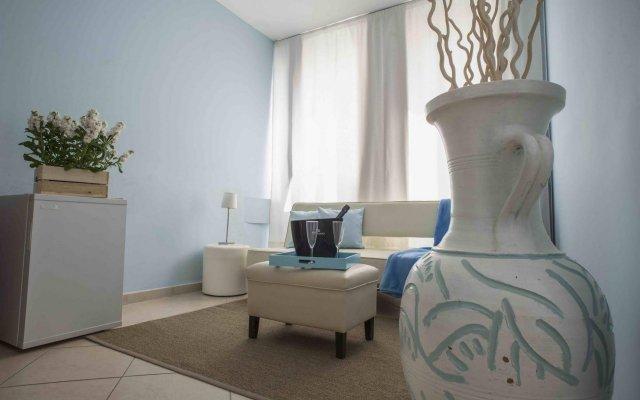 Отель B&B L' Approdo Агридженто комната для гостей
