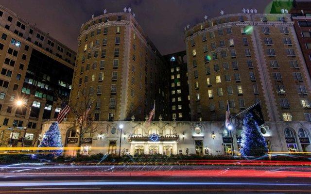Отель Marriott Vacation Club Pulse at The Mayflower, Washington DC вид на фасад