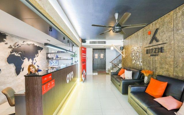OYO 137 Kitzio House Hotel Бангкок вид на фасад