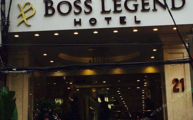 Boss Legend Hotel вид на фасад