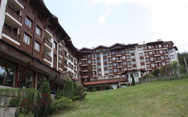 Отель Panorama Resort Банско вид на фасад