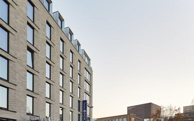 Отель Indigo Dresden - Wettiner Platz Германия, Дрезден - отзывы, цены и фото номеров - забронировать отель Indigo Dresden - Wettiner Platz онлайн вид на фасад