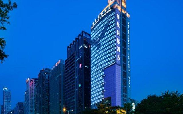 ShenzhenAir International Hotel вид на фасад
