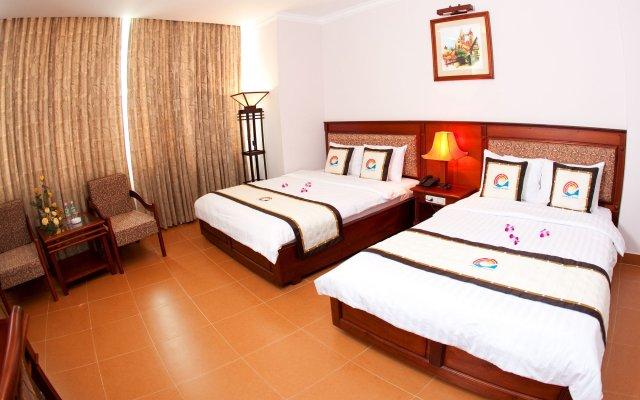 Отель Ocean Star Hotel Вьетнам, Вунгтау - отзывы, цены и фото номеров - забронировать отель Ocean Star Hotel онлайн вид на фасад