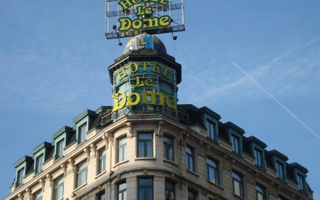 Отель Le Dome Бельгия, Брюссель - 2 отзыва об отеле, цены и фото номеров - забронировать отель Le Dome онлайн вид на фасад