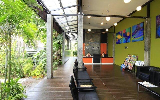 Отель Aonang Paradise Resort вид на фасад