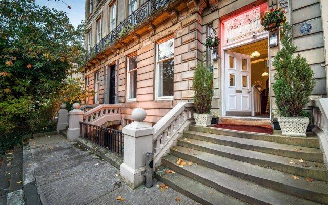 Отель Kelvin Apartment Великобритания, Глазго - отзывы, цены и фото номеров - забронировать отель Kelvin Apartment онлайн вид на фасад