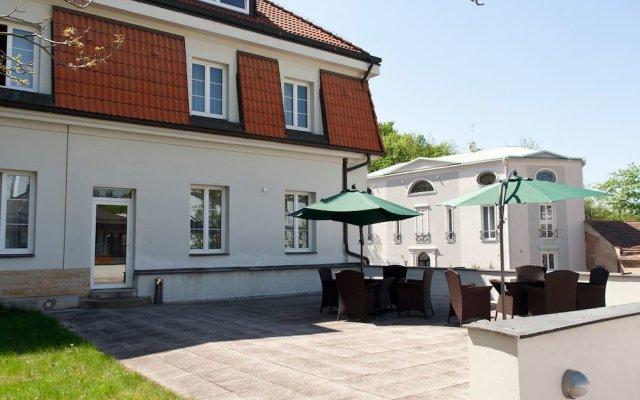 Отель POPELKA Прага вид на фасад