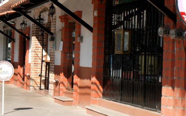 Отель Posada De Roger Пуэрто-Вальярта вид на фасад