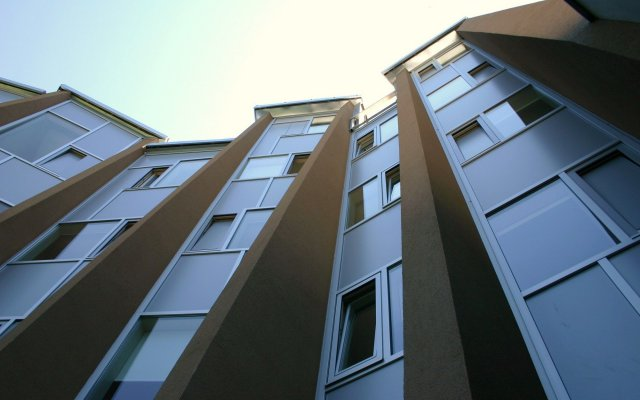 Отель Snooze Зальцбург вид на фасад