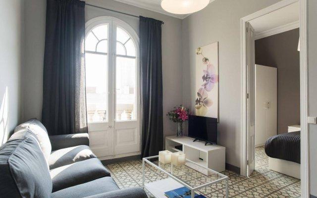 Апартаменты Barcelonaguest Apartments комната для гостей