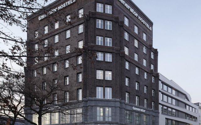 Отель Generator Hamburg Германия, Гамбург - 2 отзыва об отеле, цены и фото номеров - забронировать отель Generator Hamburg онлайн вид на фасад