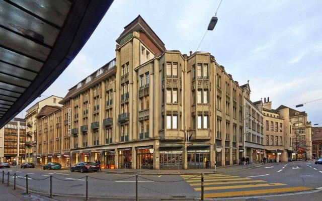 Отель Sorell Hotel Seidenhof Швейцария, Цюрих - 1 отзыв об отеле, цены и фото номеров - забронировать отель Sorell Hotel Seidenhof онлайн вид на фасад