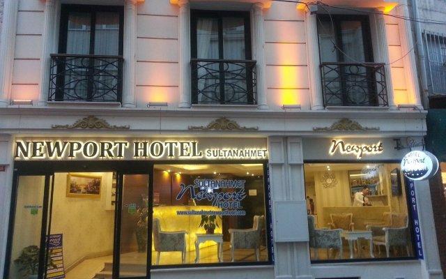 Sultanahmet Newport Hotel Турция, Стамбул - отзывы, цены и фото номеров - забронировать отель Sultanahmet Newport Hotel онлайн вид на фасад