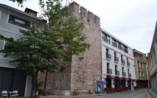 Отель Rez Butik Otel вид на фасад