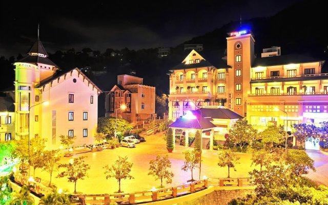 Отель Ky Hoa Hotel Vung Tau Вьетнам, Вунгтау - отзывы, цены и фото номеров - забронировать отель Ky Hoa Hotel Vung Tau онлайн вид на фасад