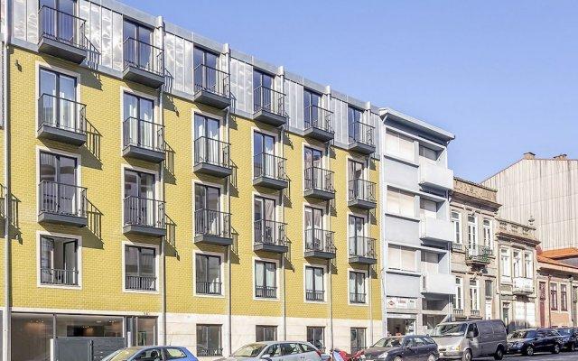 Апартаменты BO - Santos Pousada Turistic Apartments вид на фасад