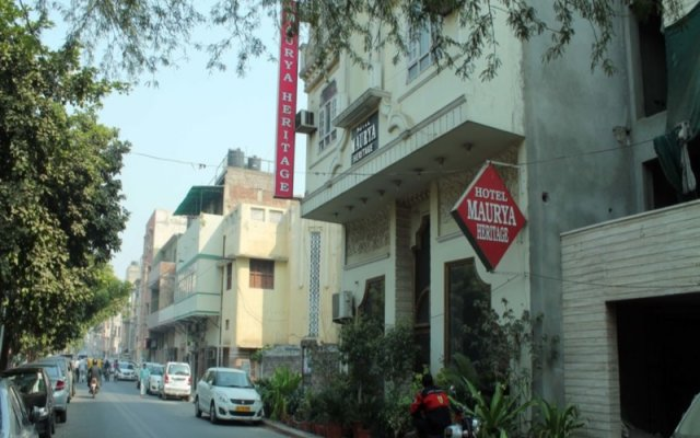 Отель Maurya Heritage вид на фасад