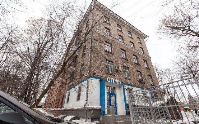 Мини-Отель Брусника Полежаевская вид на фасад