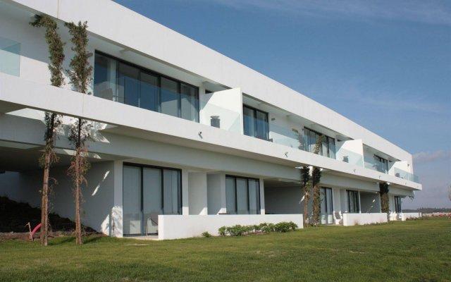 Отель Bom Sucesso Design Resort Leisure & Golf Обидуш вид на фасад