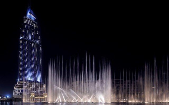 Отель MaisonPrive Holiday Homes - Address Dubai Mall Дубай вид на фасад